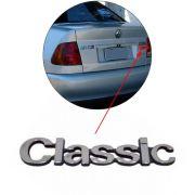 Emblema Traseiro Classic Polo 1997 1998 1999 2000 Cromado