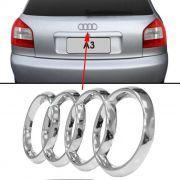Emblema Traseiro Logo Audi A3 2001 2002 2003 2004 2005 2006