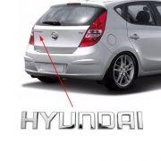 Emblema Traseiro Mala Hyundai I30 2009 2010 à 2012 Cromado