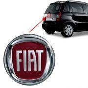 Emblema Traseiro Mala Logo Fiat Idea 2005 2006 2007 2008