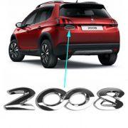 Emblema Traseiro Mala Peugeot 2008 - 2015 à 2017 2018 2019