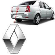 Emblema Traseiro Mala Renault Logan 2011 2012 2013 Cromado