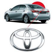 Emblema Traseiro Mala Toyota Corolla 2009 à 2015 2016 2017
