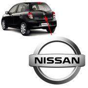 Emblema Traseiro Nissan March 2012 2013 2014 Porta Malas