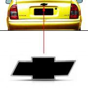 Emblema Traseiro Preto Chevrolet Corsa Classic 2009 à 2011