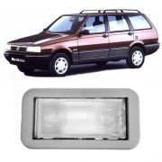 Lanterna Luz De Teto Fiat Elba 91 92 93 94 95 96 Cinza