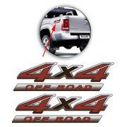 Par Emblema Adesivo 4x4 Off Road Amarok 2016