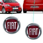 Par Emblema Logo Fiat Punto 2008 2009 2010 2011 2012