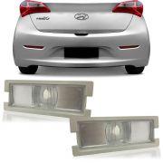 Par Lanterna Da Placa Hyundai HB20 2013 2014 2015