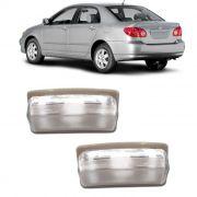 Par Lanterna Placa Corolla 2003 2004 2005 2006 2007 2008
