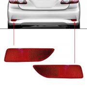 Par Refletor Traseiro Toyota Corolla 2012 2013