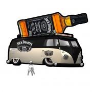 Porta Chaves de Mdf Decorativo Jack Daniels para Paredes ou Portas