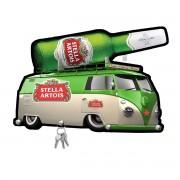 Porta Chaves de Mdf Decorativo Stella Artois para Parede ou Porta
