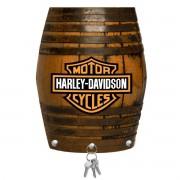 Porta Chaves de Mdf Decorativo Harley Davidson para Parede ou Portas