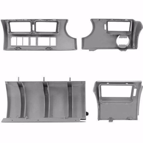 Moldura Painel Gol Parati Saveiro G3 Kit Completo Cinza