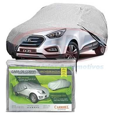 Capa Cobrir Carro Tam. Xg Gofrada Impermeável Hyundai Ix35