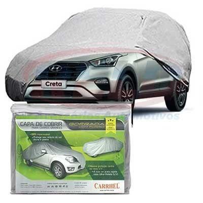 Capa Cobrir Carro Tam. Xg Gofrada Impermeável Hyundai Creta