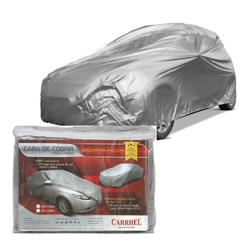Capa Cobrir Carro P Forrada Impermeável Peugeot 206 207 208