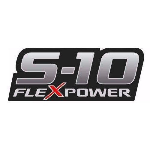 Emblema Adesivo Lateral S10 Flex Power Rodeio 2009 2010 2011