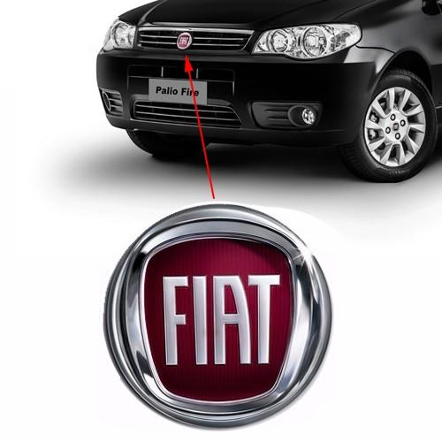 Emblema Dianteiro Fiat Palio Modelo 2008 Grade