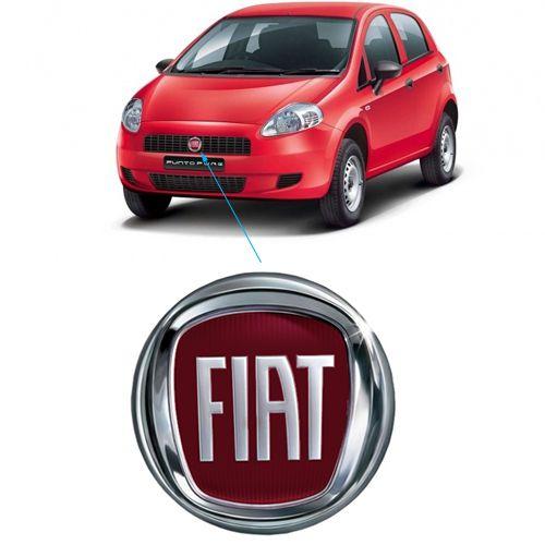 Emblema Dianteiro Fiat Punto 2008 2009 2010 2011 2012