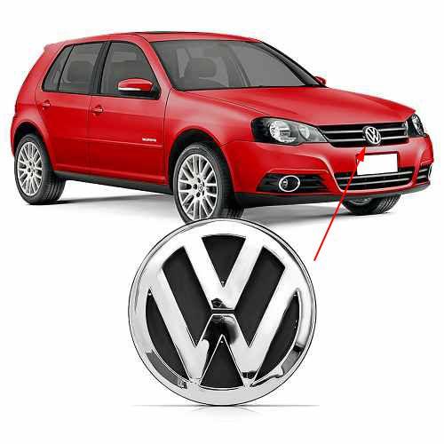Emblema Dianteiro Grade VW Golf 2008 à 2010 2011 2012 2013