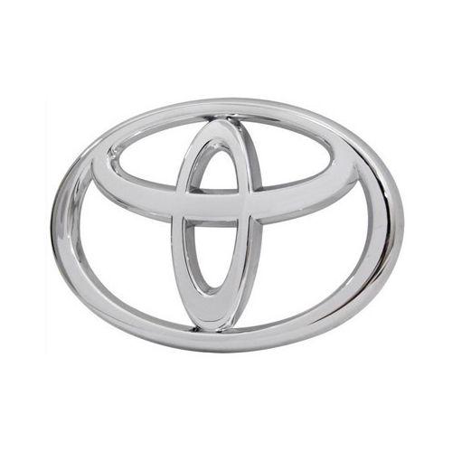 Emblema Grade Dianteira Toyota Corolla 2003 à 2007 Cromado