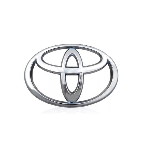 Emblema Grade Frontal Cromado Toyota Corolla 2015 2016 2017