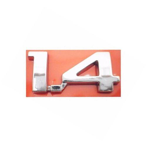 Emblema Letreiro 1.4 Celta 2001 2002 2003 2004 2005 Cromado