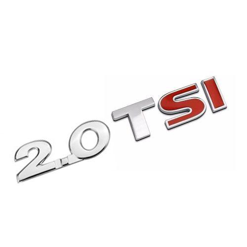 Emblema Letreiro 2.0 Tsi Jetta 2010 2011 2012 2013 2014