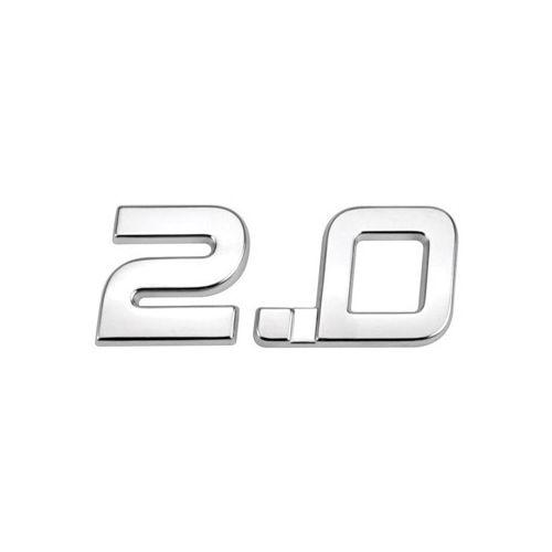 Emblema Letreiro Cromado 2.0 Duster 2013 à 2016 2017
