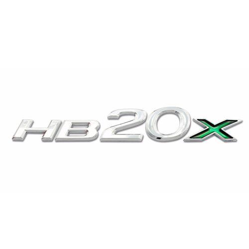 Emblema Letreiro Cromado Hb20x 2013 2014 2015 2016 2017 2018