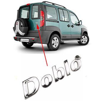 Emblema Letreiro Doblo Fiat 2001 à 2012 2013 2014 2015 2016