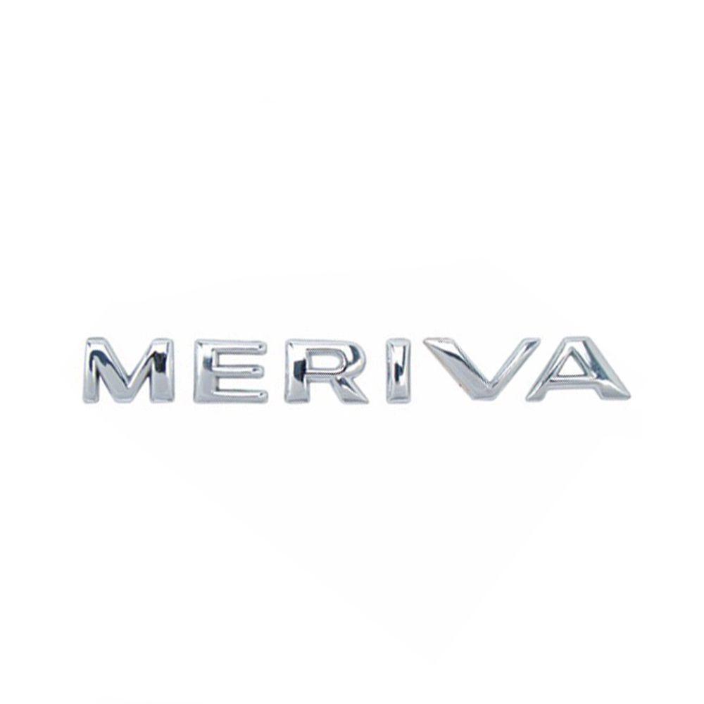 Emblema Letreiro Meriva 2002 2003 2004 2005 À 2012 Cromado