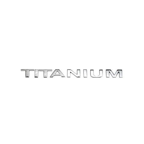 Emblema Letreiro Titanium Ecosport 2013 2014 2015 Cromado