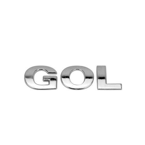 Emblema Letreiro Traseiro Gol G3 2000 à 2004 2005 Cromado