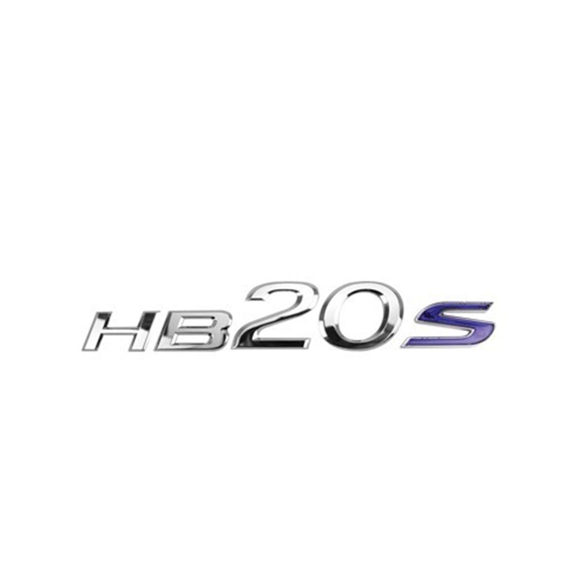 Emblema Letreiro Traseiro Mala HB20S 2014 2015 2016 2017
