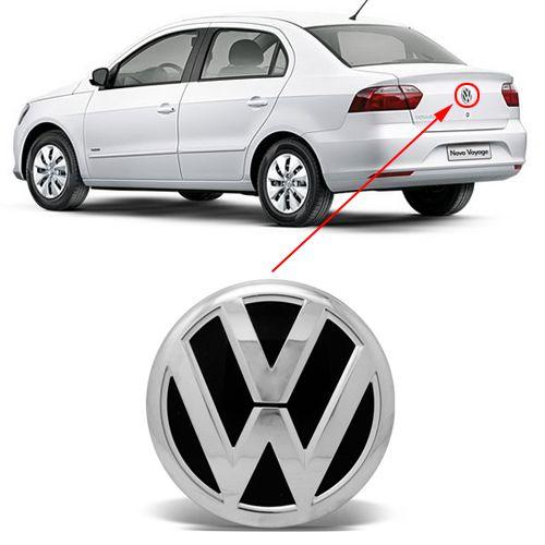 Emblema Logo Volkswagen Voyage G6 2013 14 2015 2016 Cromado