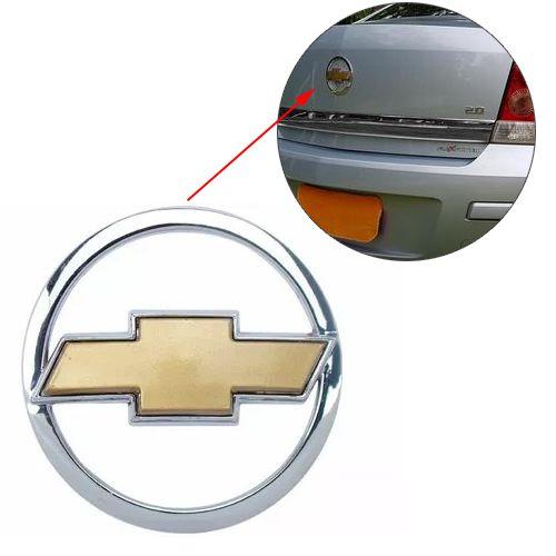 Emblema Mala Chevrolet Vectra 2007 2008 2009 Traseiro