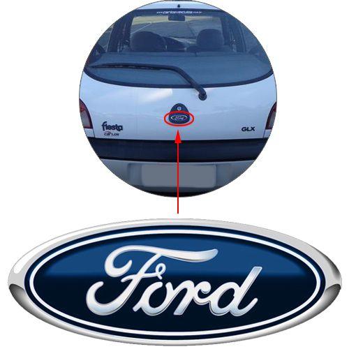 Emblema Traseiro Ford Fiesta Curvo 96 à 2004 2005 2006 2007
