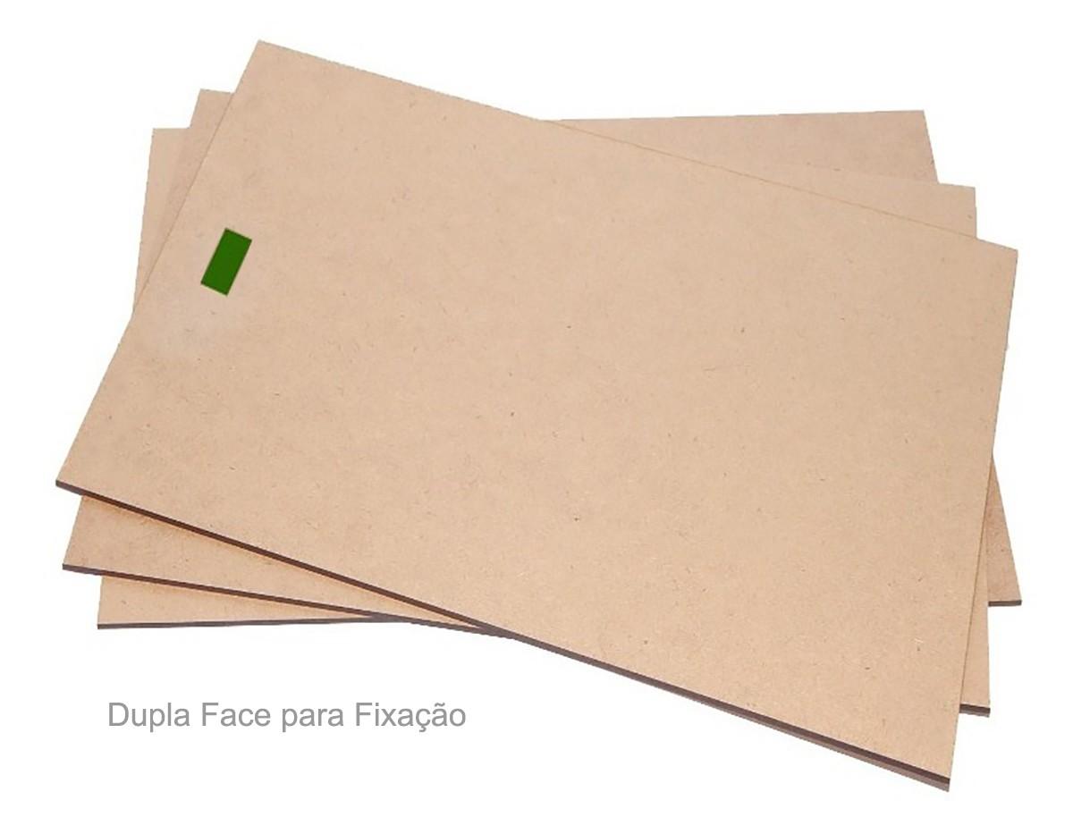 Kit Com 6 Placas Decorativas Arlequina Mdf 20x28 Cm