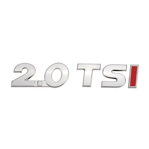 Kit Emblema Letreiro Cromado 2.0 Tsi Jetta 2010 à 2013 2014