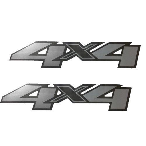 Par Emblema 4x4 S10 2013 2014 2015 2016 Adesivo