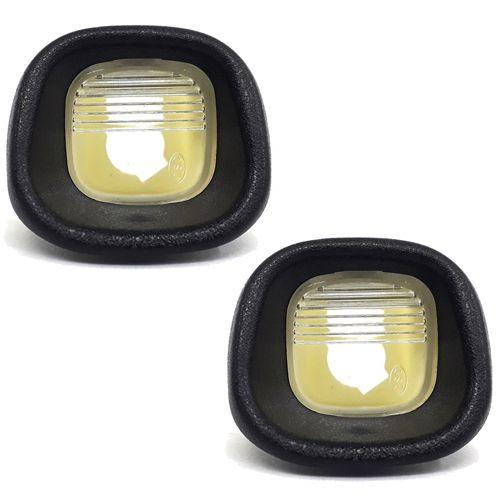 Par Lanterna Placa S10 2001 à 2007 2008 2009 2010 2011 2012