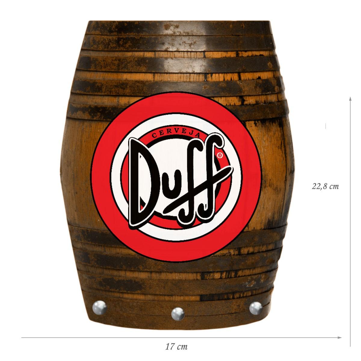 Porta Chaves de Mdf Decorativo Duff para Parede ou Portas
