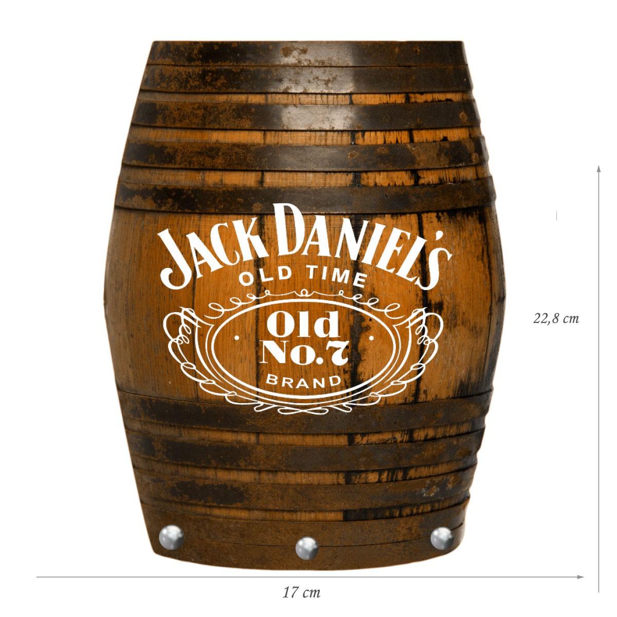 Porta Chaves de Mdf Decorativo Jack Daniels para Parede ou Portas