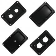 Espelho Ludovico metálico para caixa de som, diversas configurações