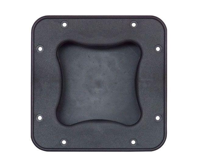 Alça Ludovico de embutir para caixa de som, grande quadrada