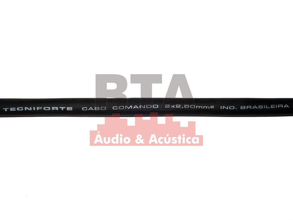 Cabo speaker 2x2,50 para caixas acústicas
