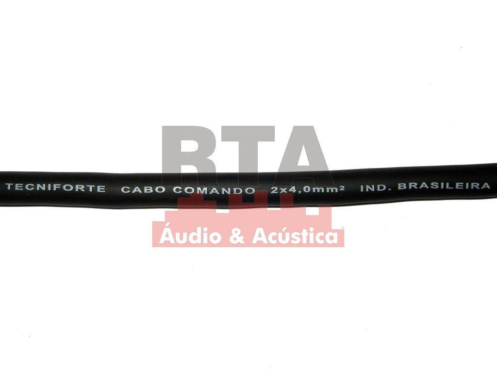 Cabo speaker 2x4,00 para caixas acústicas sub